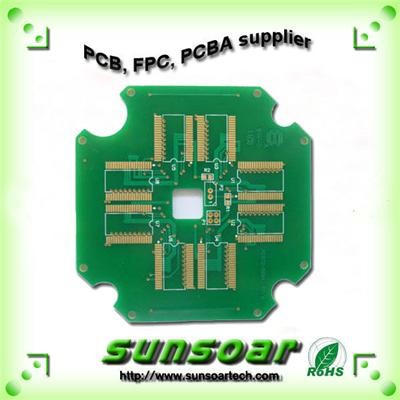 Professional Manufactur 2 Layer Thick Laminate EING Routing PCB