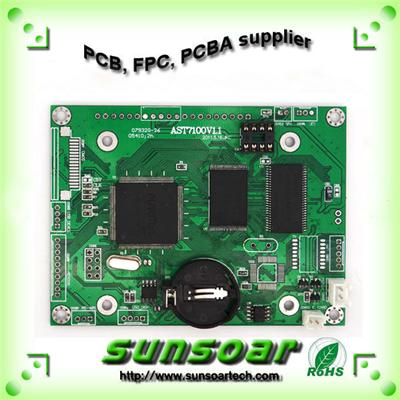 Fr4 Double-sided Pcb With 1.6mm Thickness 2 Layer In Shenzhen
