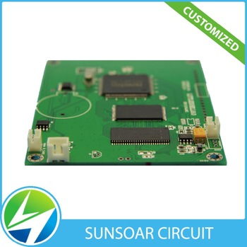 Pcb Factory 1 Oz Copper Thickness 2 Layer Pcb Wireless Charger Pcb