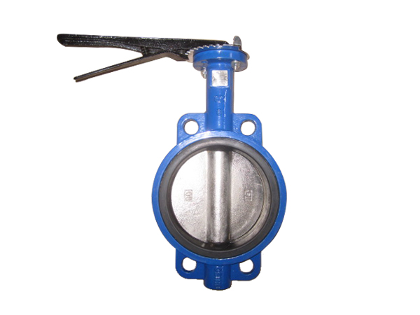 Wafer Type With SS Body/Wafer Type Without Pin Type/Wafer Type With 2pc Body PTFE Type/ Wafer Type With China Wheel Type butterfly valves