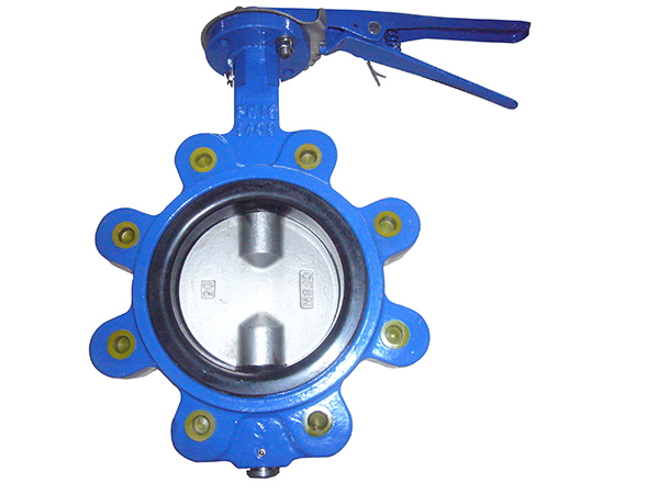LT Type With 2pc Stem Butterfly Valves/LT Type With Pin Type Butterfly Valves