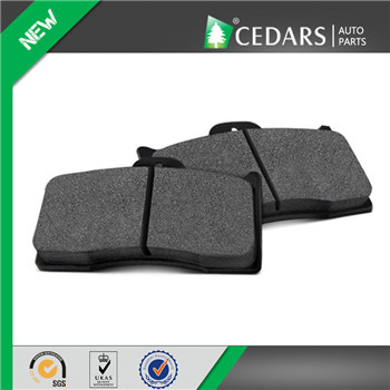 Reliable China Brake Pad Supplier with ISO 9001