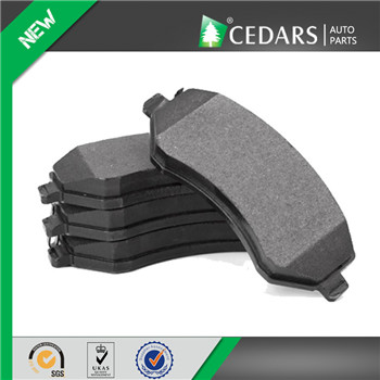 High Performance Semi-metallic Brake Pad with 12 Months Warranty