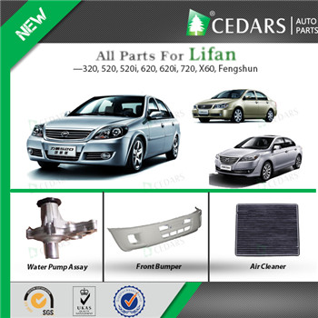 Reliable Lifan Auto Spare Parts Wholesale with ISO 9001