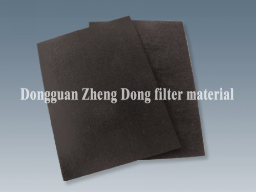 Synthetic Activated Carbon Filter Material