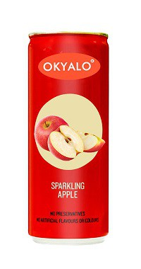 Okyalo 250ML Fresh Sparkling Apple Juice
