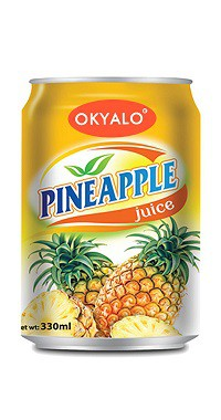 Okyalo 350ML Pineapple Juice Drink, Okeyfood