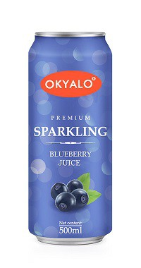 Okyalo 500ML 100% Pure Blueberry Juice & Drink, Okeyfood