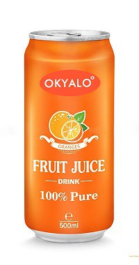 Okyalo 500ML Best Pure Organic Orange Juice & Drink, Okeyfood