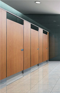 Phenolic Toilet Partition Water Proof HPL Toilet Cubicle