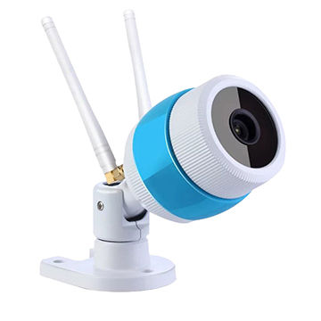 Wi-Fi Bullet IP Camera With 2 Wi-Fi Antennas, 1280*720p And 3.6mm Lens