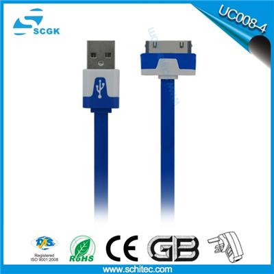 Hot seller Iphone 4s charging cable,usb to 30 pin data cable,apple iphone4s cable for iphone