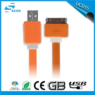 Good quality usb to 30 pin cable,usb iphone4s cable,charging cable for  iphone 4s