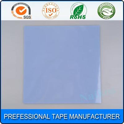 Thermally Conductive Silicone Blue Thermal Pad With Fiberglass For CPU