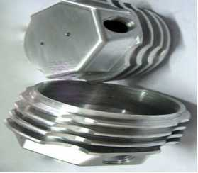 CNC machining of milling machine parts