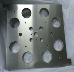 CNC machining of stainless steel parts