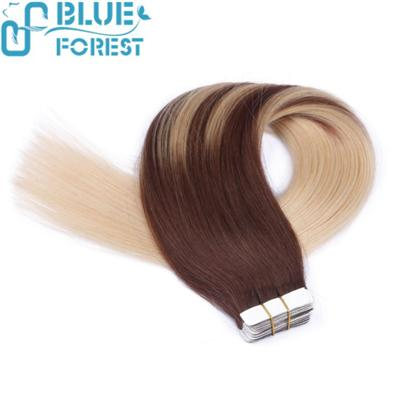 Skin Weft Seamless Hair Extension Grade 5a Virgin Brazilian Tape Hair Extension