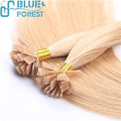 2016 Best Selling Wholesale Factory Price Keratin Pre-Bonded Flat Tip Hair Extension