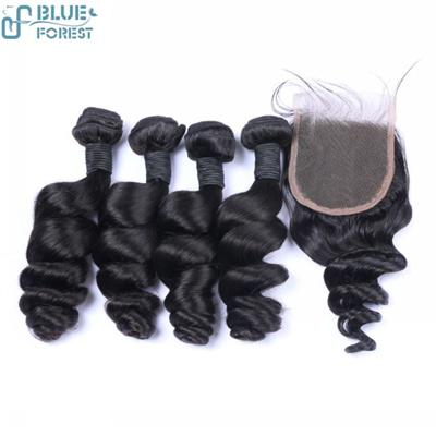 Fast Shipping Human Hair Extension Lace Hair Clousures