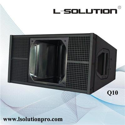 Q1 10 Inch Compact Powerfull Line Array Speaker System