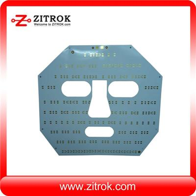 Smd Round led Pcb board Circuit Layout Design Soldering Metal Core Pcb Assembly For Flexible Led Strip