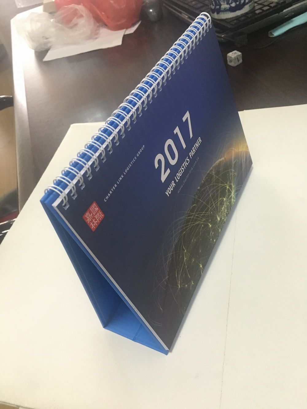 Desk and wall calendar printing manufacturer