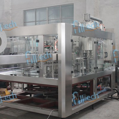 Automatic Carbonated Water Filling Line