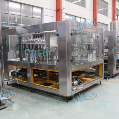 Complete mineral water bottle filling plant or line