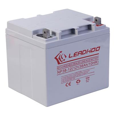 12V38Ah 12V AGM Inverter Battery