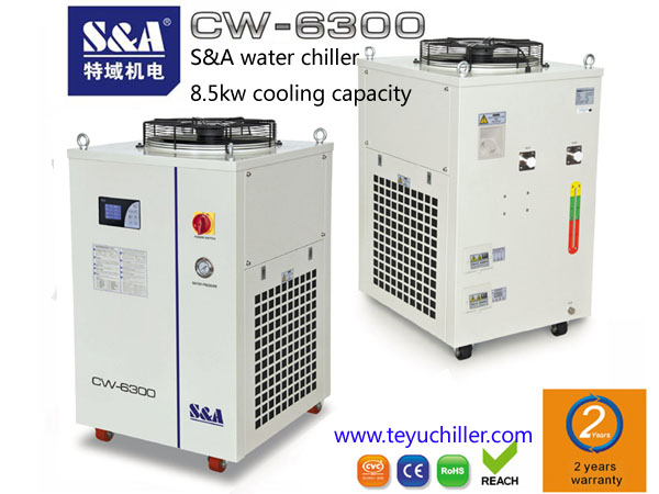 S&A water chiller for led lighting machine