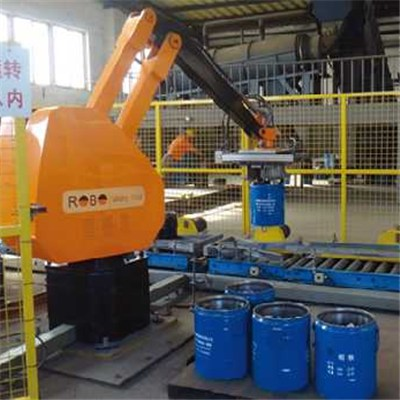 Automatic Iron Drum Packaging Machine