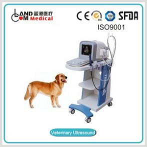 Touch Screen LCD Display Digital Trolley Ultrasound Scanner Ultrasound Trolley