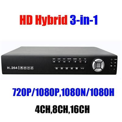 Hybrid 8 Channel DVR