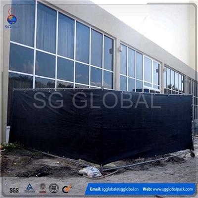 China Hot Sale Silt Fence PP Woven Fabric