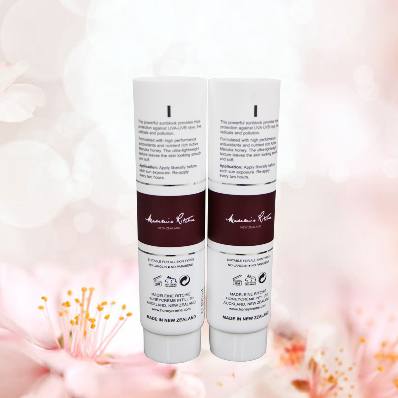 Specialized Plastic Cosmetic Tube And Cleanning Facial Cream  Cosmetic Tube Packaging