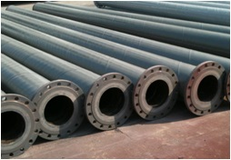 cast basalt lined steel pipe Mine tailings pipeline system for ash handling