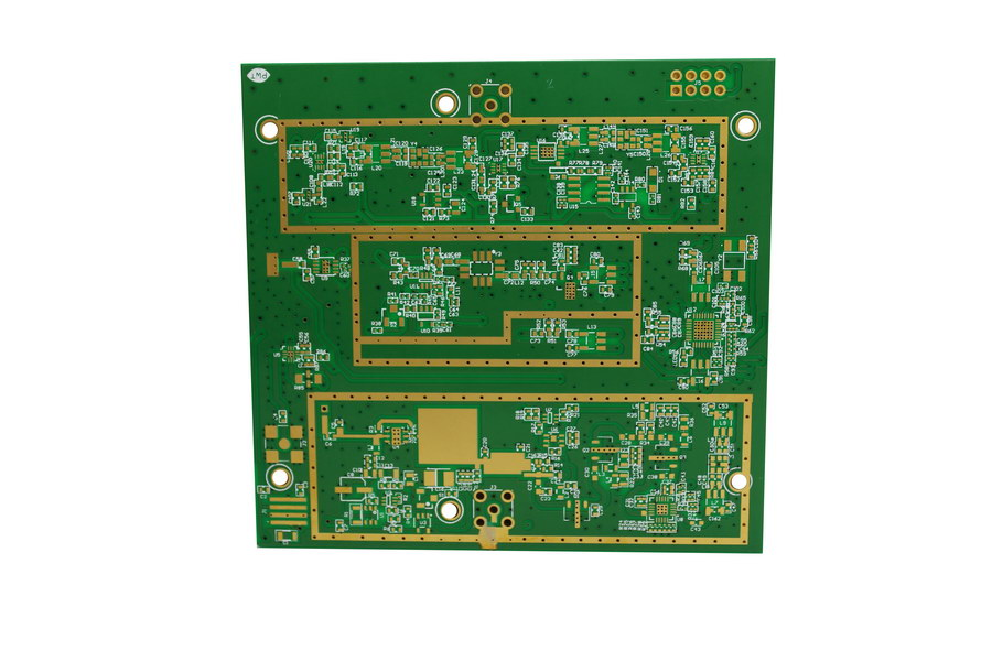 PCBs with copper filled micro vias