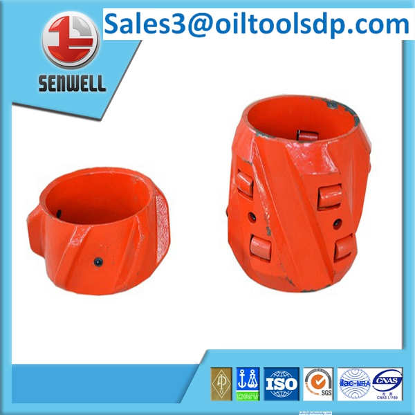 API standard rigid centralizer for casing pipe