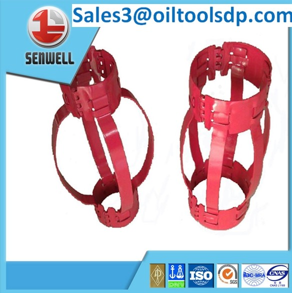API standard non-welded bow spring centralizer
