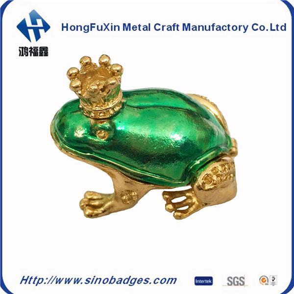Hongfuxinzinc Alloy Struck Enamel Badge