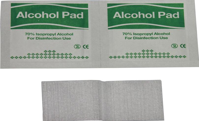 Medical disposable External use Alcohol Pad for easy skin cleaning