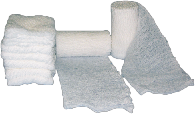 Medical Fluff absorbent Gauze Roll with different plies and sizes