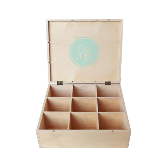 2017 Handmade natural wooden gift storage box