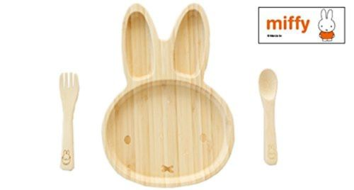 fancy rabbit-shaped wooden bread tray for baby