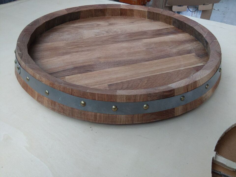 China round wooden pallet base and wooden Tray manufacturer