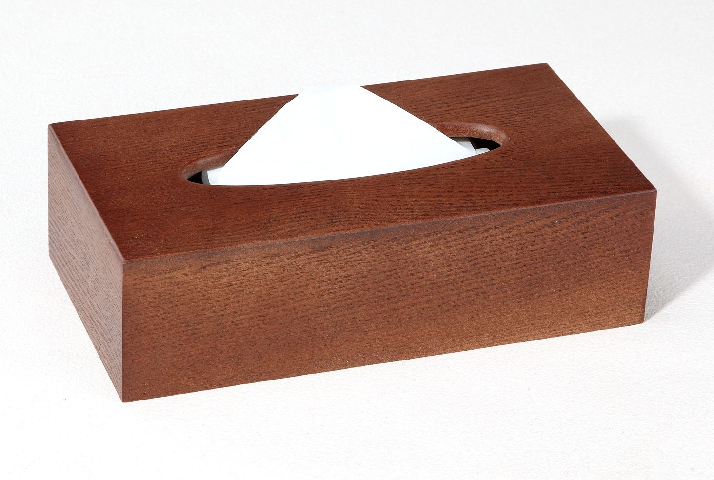 handmade natural unfinished wooden handmade tissue box
