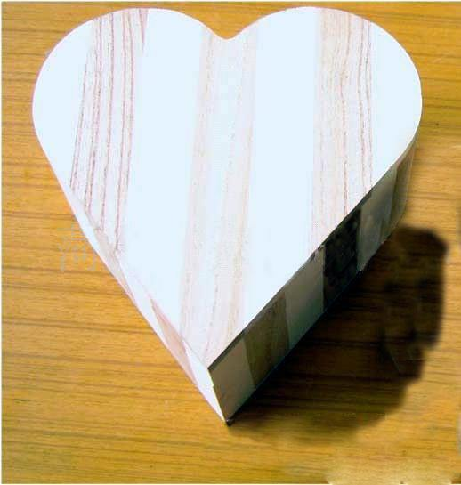 Cheap custom single wine box wood wedding candy box Home Container