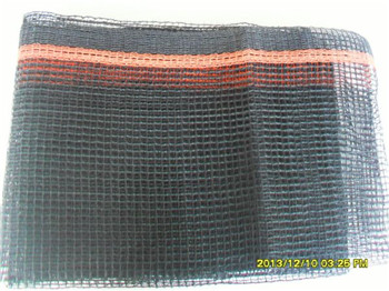 New HDPE with FR&UV long useful life scaffolding safety net debris net black&orange color