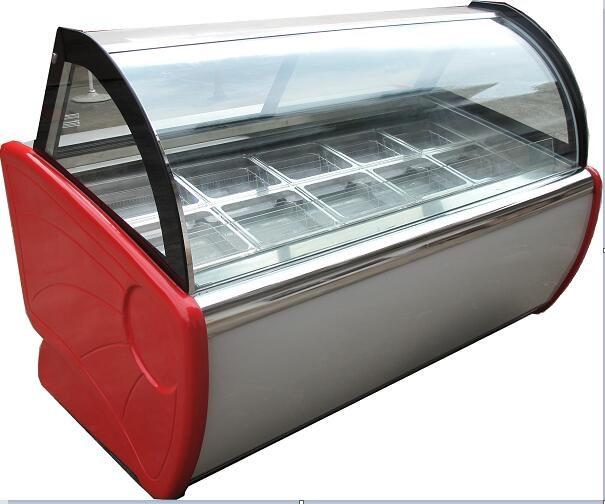 Luxuriousiced Popsicle Ice Cream Display Cabinet/Cryogenic Popsicle reveal ark