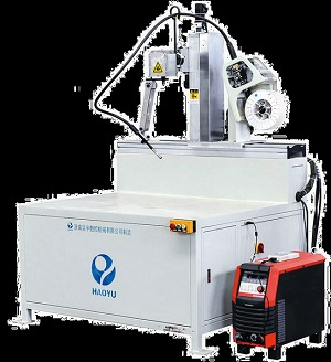 4 axis Automatic Welding Machine for Tipper Trailer